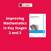 How does the Mathematics Mastery programme match the EEF guidance on improving outcomes in maths at KS2 and 3?